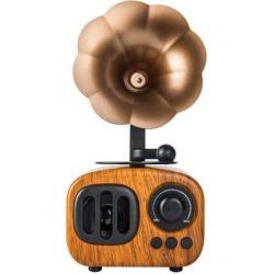 DOBACNER Bluetooth speaker retro wholesale card radio voice wireless smart speaker (Pear color)