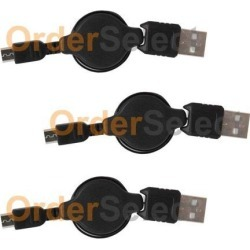 3 NEW Micro USB Cable for Android Samsung Galaxy S5 S6 S7 Edge Plus Active HOT