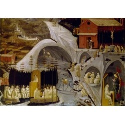 Posterazzi SAL3810412568 Tebaide by Paolo Uccello 1397-1475 UK England London a & F Pears Ltd Poster Print - 18 x 24 in.