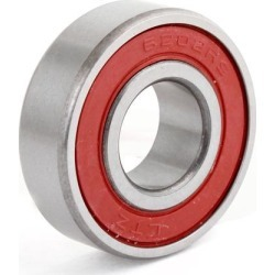 Unique Bargains Roller Wheel 6202-2RS Deep Groove Ball Bearing 15 x 35 x 11mm