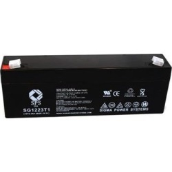 SPS Brand 12V 2.3 Ah Replacement Battery for Albury Instruments LIFE GUARD 80 PORTABLE DEFIBRILLATOR (1 pack) found on Bargain Bro India from Newegg Business for $14.34