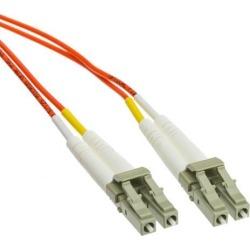 Plenum Fiber Optic Cable, LC / LC, Multimode, Duplex, 62.5/125, 3 meter (10 foot)