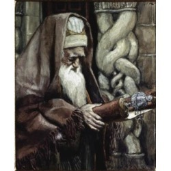 Posterazzi SAL9999928 The Aged Simeon James Tissot 1836-1902 French Poster Print - 18 x 24 in.