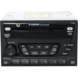 Recertified - 2001 Nissan Frontier AM FM Radio 6 Disc CD Player w Aux Input 28185 9Z600 PY198 found on Bargain Bro India from Newegg Business for $235.00