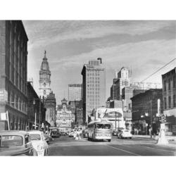 Posterazzi SAL25546100 Market Street Philadelphia Pennsylvania USA Poster Print - 18 x 24 in.