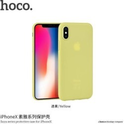 HOCO Suya series protective case for iPHONE X Yellow
