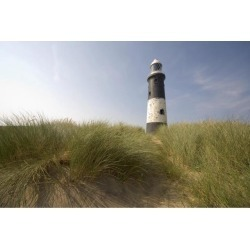 Posterazzi DPI1833436 Lighthouse in The Dunes Poster Print, 18 x 12