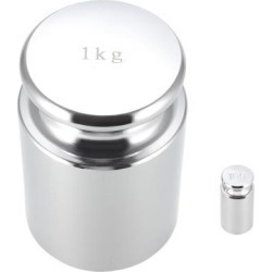 Gram Calibration Weight Set 10g 1000g M1 Precision Chrome Plated Steel for Digital Balance Scales