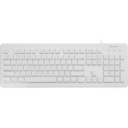 macally MKEYX White Wired Keyboards
