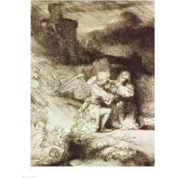 Posterazzi BALBAL72645LARGE The Agony in The Garden Poster Print by Rembrandt Van Rijn - 24 x 36 in. - Large