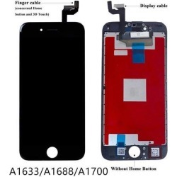 Screen Replacement for iPhone 6s (4.7 Inch) Black - with LCD Touch Screen Glass Frame Assembly Display Digitizer for A1633, A1688, A1700 Model