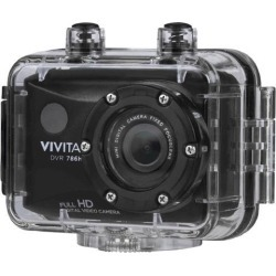 Vivitar DVR786HD 1080p HD Waterproof Action Video Camera Camcorder (Black) with Remote, Helmet & Bike Mounts