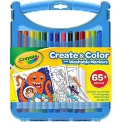 Crayola 040377 Colored Pencil Kits with Super Tips, Travel Art Set