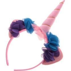 Unicorn Horn Headband Fancy Dress Halloween Adults Hen Party Props Pink