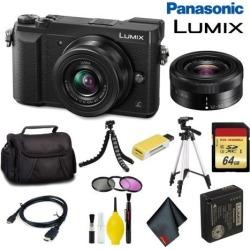 Panasonic Lumix DMC-GX85 Mirrorless Micro Four Thirds Digital Camera with 12-32mm Lens (Black) Master Bundle