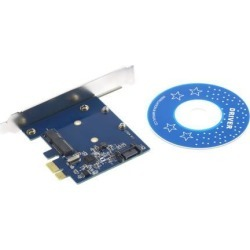 PCI-E PCIe to mSATA SSD+SATA3.0 Combo Extender Adapter PCI-E toSATAIII Card found on Bargain Bro Philippines from Newegg Canada for $12.87