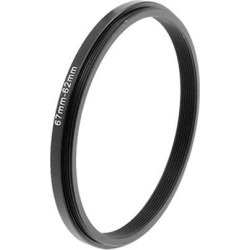 Unique Bargains Camera Lens Step Down Fliter Adapter Ring 67-62mm