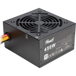 Rosewill RD 450Z 450W Power Supply, 80 PLUS Certified Active PFC Non-Modular Gaming PSU, Single +12V Rail