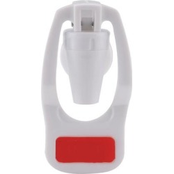 Red Water Cooler Faucet Plastic Water Dispenser Clean Spigot Fits Adaptor Hot Cold Water Faucet Tap Replacement