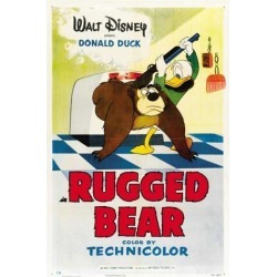Rugged Bear Movie Poster (27 x 40)