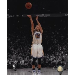 Posterazzi PFSAARV07601 Stephen Curry 2014-15 Spotlight Action Sports Photo - 8 x 10 in.