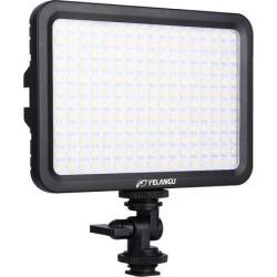 YELANGU YLG0504B 204 LEDs 1000LM 3300-5600K No Polar Dimmable Studio Light Video & Photo Light for Canon, Nikon, DSLR Cameras