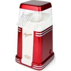 Nostalgia RHP310 RHP-310 Retro 8-Cup Hot Air Popcorn Maker, Red