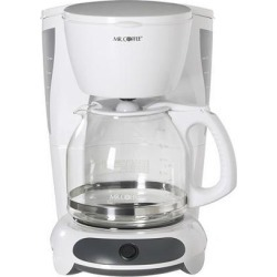 MR. COFFEE DW12-NP White 12-Cup Coffee Maker