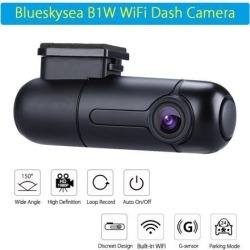 Blueskysea B1W WiFi FHD 1080P 150° Wide Angle Car Dash camera Video Recorder Car DVR found on Bargain Bro India from Newegg Business for $67.94