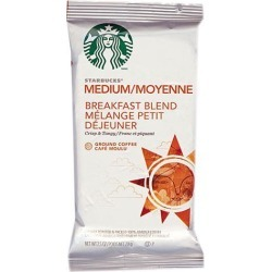 Starbucks 11018193 Brkfast Blend Ground Single Pot Coffee