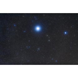 Open cluster Messier 41 in the constellation Canis Major Poster Print (34 x 23)