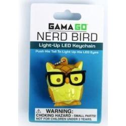 Nerd Bird LED Key Chain