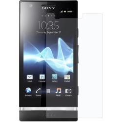 Amzer Krystal Clear Screen Guard Scratch Protector Shield for Sony Xperia P
