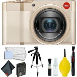 Leica C-Lux Digital Camera (Light Gold) Accessory Kit