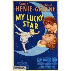 Posterazzi MOVIH1609 My Lucky Star Movie Poster - 27 x 40 in. found on Bargain Bro Philippines from Newegg Canada for $45.26