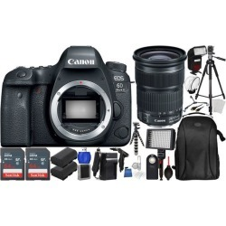 Canon EOS 6D Mark II DSLR Camera with EF 24-105mm f/3.5-5.6 IS STM Lens Ultimate Bundle