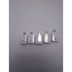 Recertified - Lot of 5 Genuine Micro USB OTG Adapter Connector for Galaxy S6 S7 EDGE Note 5