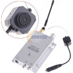 Wireless 1.2Ghz Color Surveillance CMOS Camera Monitor