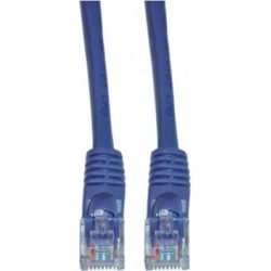 Offex Cat5e Purple Ethernet Patch Cable, Snagless/Molded Boot, 14 foot