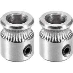 MK8 Drive Gear Direct Extruder Drive 5mm Bore for Reprap Extruder 2pcs