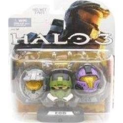 Halo Action Figure Helmets Set 5 - EOD, Mark VI, CQB