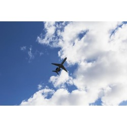 Posterazzi DPI12275603 Airplane Leaving Anchorage Airport - Anchorage Alaska United States of America Poster Print - 19 x 12 in.