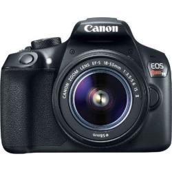 Recertified - Canon EOS Rebel T6 18.0MP Digital SLR Camera Black Kit w/ 18-55mm Lens 1159C003