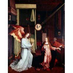 Posterazzi SAL900105667 The Annunciation by Jan Provost the Younger 1465-1529 Poster Print - 18 x 24 in.