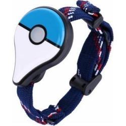 For Pokemon GO Plus Bluetooth Wristband Bracelet Interactive Figure Toys for Nintend Switch Pokemon Go Plus Blue and white automatic