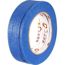 Masking Tape Painter's Tapes, 0.2 Inch X 164 Feet Blue 6 Roll