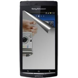 Amzer Mirror Screen Protector with Cleaning Cloth For Sony Ericsson Xperia arc