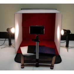 New 50w Photo Studio 16' Photography Lighting Tent Kit Backdrop Cube In A Box