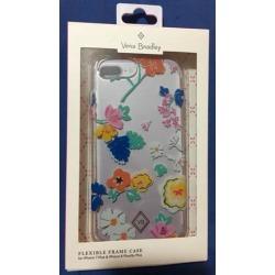 New Vera Bradley Flexible Frame Case For iPhone 8 Plus / 7+ - Santiago Floral