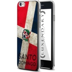 LUXENDARY SANTO DOMINGO FLAG DESIGN CHROME SERIES CASE FOR IPHONE 6/6S PLUS